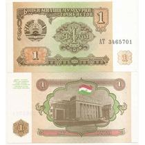 Billete De Tajikistan 1 Rublo 1994 P-1