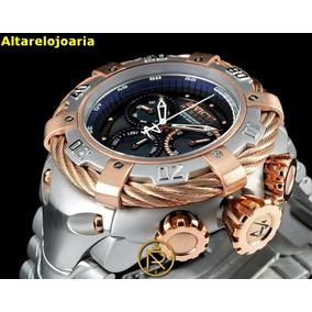 f532b9dc15f Relogio Invicta Reserve Preto Com Dourado - Relógios De Pulso no ...