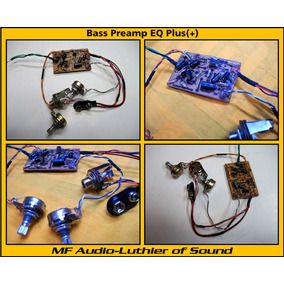 Bass Preamp Con Equalizador Bajo Guitarra Amplificador