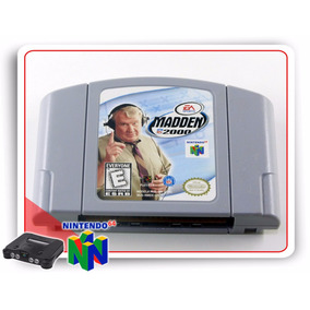 N64 Nfl Madden 2000 Original Nintendo 64