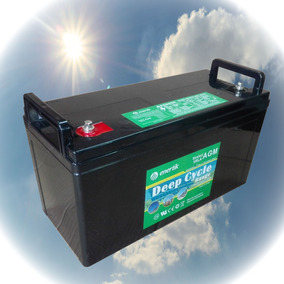 Batería Agm Ciclo Profundo 12 V. 135 Ah, Enertik