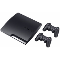 Playstation 3 Slim De 320 Gb Nueva C/40juegos +2joyst.!!!!!!