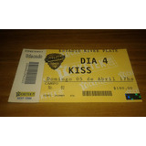 Kiss Entrada Recital Quilmes Rock 2009 Estadio River Plate