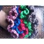 Gomitas Para El Pelo Tejidas A Crochet.artesanales.