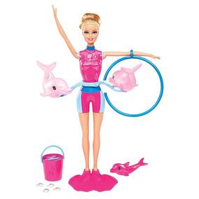 Boneca Barbie Quero Ser Treinadora De Golfinhos - Mattel