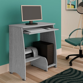 Mesa Para Computador Pixel Cinza