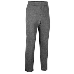 Pants Under Armour Rival Fitted 1302295-090 Gris Pv