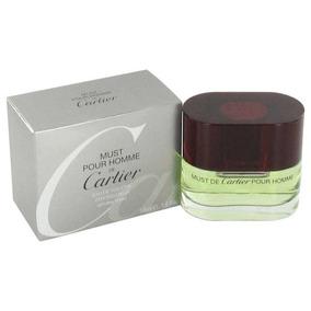5a3e1665414 Must Hombre Eau De Toilette 50ml Lançamento Cartier. 1 vendido - Paraná ·  Perfume Original Cartier Must Pour Homme 50ml (sem Uso)