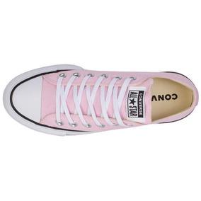Zapatillas Converse Mujer Lona Rosa