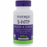 Natrol 5-htp Time Release 200mg - 1 Por Dia Apenas 5 Htp Eua