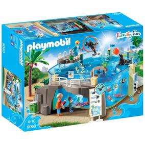 Playmobil Aquário Marinho Family Fun Original 9060 /1721