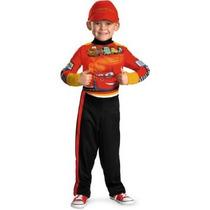Disfraz Niño Disfrazar Disney Cars 2 Rayo Mcqueen Del Equip