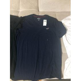 Camiseta Hollister 100% Original Direto Da Califórnia