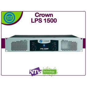 Amplificardor O Planta Crown Lps-1500