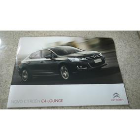 Folder Catálogo C4 Lounge. N Pallas C3 Picasso Xsara C5