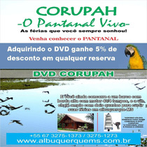 Dvd Corupah O Pantanal Vivo