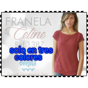 Franela Femenina Celine Ovejita.