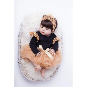 Boneca Reborn Barata Promoção Bebê Silicone Banho Realista