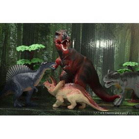 Pk Set Dinosaurio Rex Jurassic Juguete Infantil Regalo 43