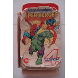 Super Heroes Juego De Naipes Cromy Match 4