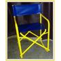 Sillon Direc. Caño Redondo Estructura Color Amarilla Ultimos