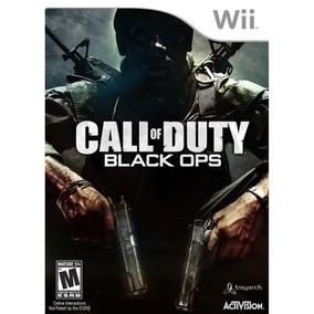 Call Of Duty - Black Ops Wii Usado Original