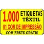 Etiquetas P/ Roupas, Artesanatos, Pet Shop - Frete Grátis