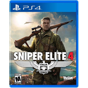 Sniper Elite 4 - Ps4 - Disco Fisico