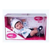 Boneco Menino  Anny  Doll Baby Reborn 2440 - Cotiplás