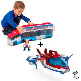Brinquedo Furgão + Avião Patrulheiro Patrulha Canina - Sunny