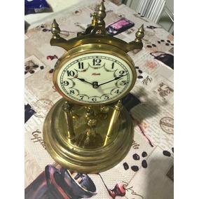 9c7b118a7e1 Antigo Relógio Mesa Dial Porcelana 400 Dias Reparo Ou Peças