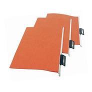 Carpetas Colgante Color Ladrillo Visor Oficio X100 Unidades