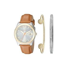 Relógio Fossil Ladies Kit Com Braceletes Es3771