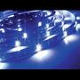 Fita De Led Silicone Prova D Água Adesiva Azul P/ Metro