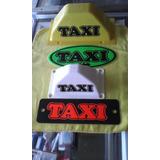 Avisos Calcomania Cascos De Taxi