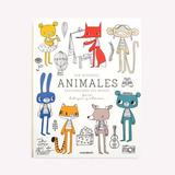 Libro Para Pintar Animales Exploradores Del Mundo Monoblock