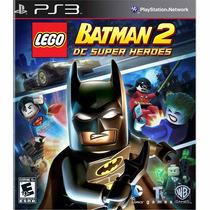 Lego Batman 2 Dc Super Heroes Ps3 Novo Original Mídia Fïsica