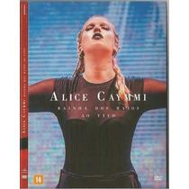 Dvd Alice Caymmi Rainha Dos Raios Ao Vivo