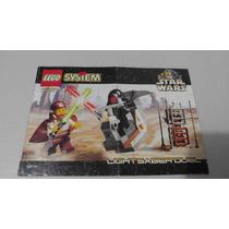 Lego 7101 Lightsaber Duel Star Wars Instructivo O Manual
