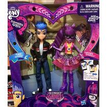 Equestria Girls Flash Sentry Y Twilight Sparkle Set Hasblo