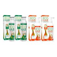 Combo Eco Hair Shampoo + Loción Crecimiento Cabello 2 C/u