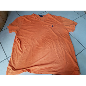 Playera Polo Cuello V By Ralph Lauren Extra Grande