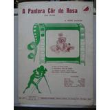 Partitura A Pantera Cor De Rosa Henry Mancini Pink Panther