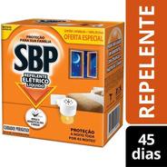 Repelente Eletrico Liquido Sbp  Aparelho+refil De 45 Noites