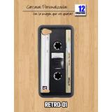 Funda Retro Cassette Lg G5 G6 Q6 Carcasa Premium Tpu Case