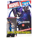 Marvel Heroes 3d Panini #6 Hawkeye Ojo De Halcón Lcatoy79