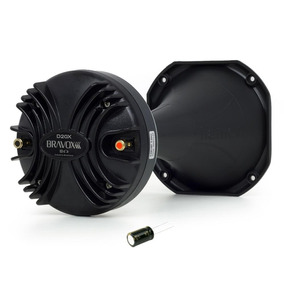 Driver Bravox D20x Trio - 200 Wrms + Corneta + Capacitor