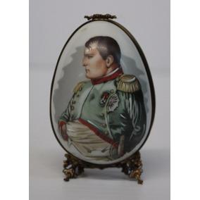 Huevo Porcelana Limoges Frances De Napoleon Y Josephine