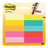 3m Post It Mini Señaladores De Página 10 Colores