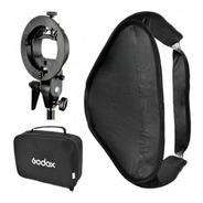 Soft Box Plegable Godox 80x80 Para Speedlite
